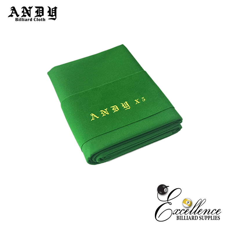 ANDY X5 CLOTH - 8ft English Green