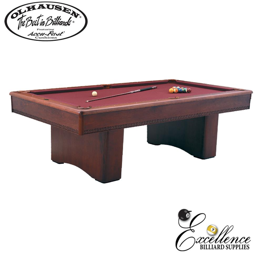 Olhausen Pool Table York 8' - Excellence Billiards NZL
