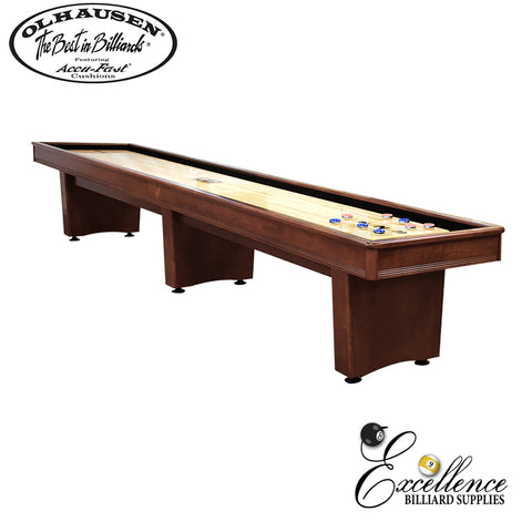 Olhausen - York 12ft Shuffleboard - Excellence Billiards NZL