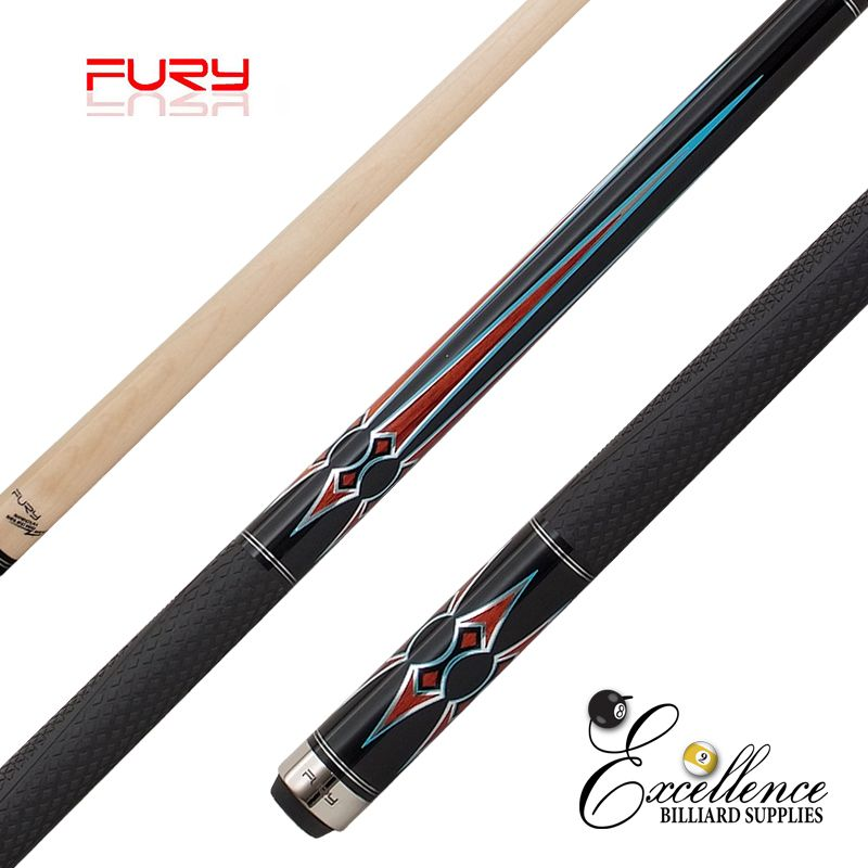 "FURY (ZS-02) 58""2-PC ZS FURY DECAL CUE"
