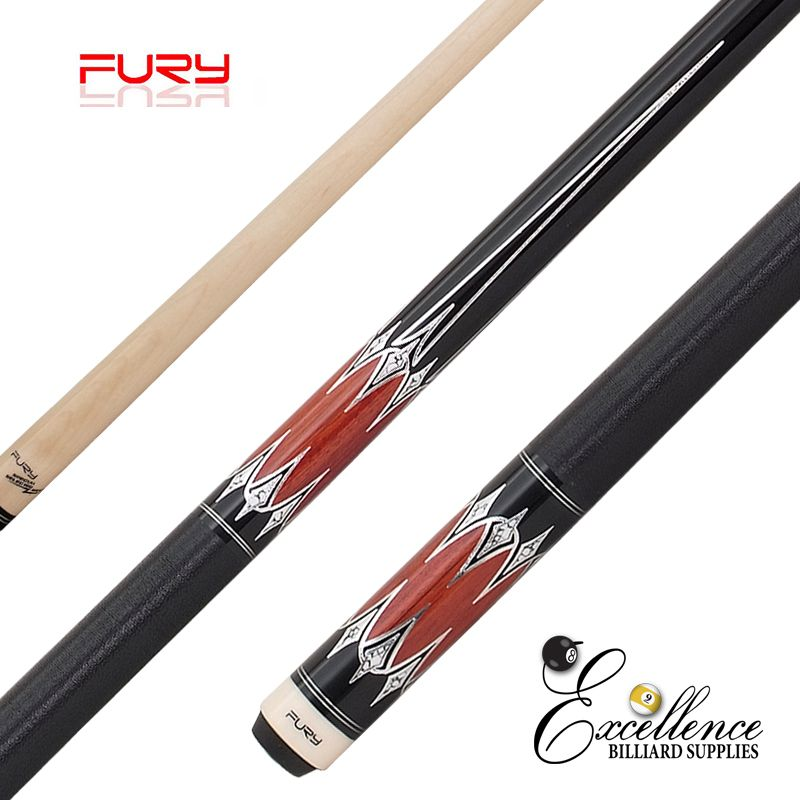 "FURY (ZS-04) 58""2-PC ZS FURY DECAL CUE"