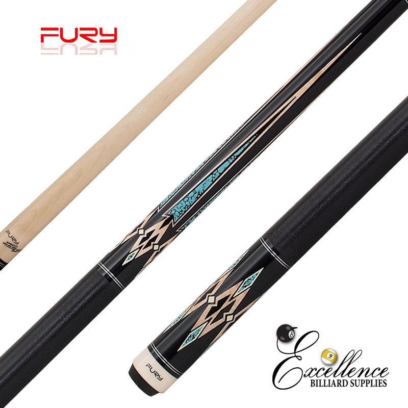 "FURY (ZS-05) 58""2-PC ZS FURY DECAL CUE"