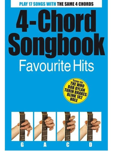 4 Chord Songbook Favourite Hits