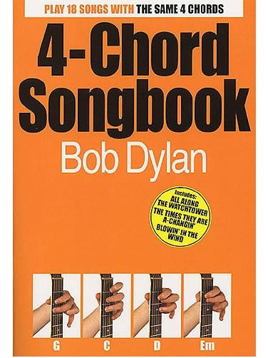 4 Chord Songbook Bob Dylan
