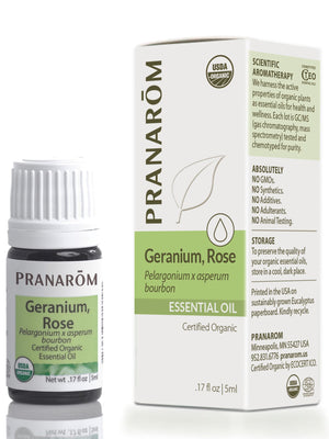 Geranium Rose Essential Oil,  Organic