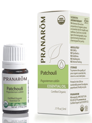 Patchouli Essential Oil, Organic
