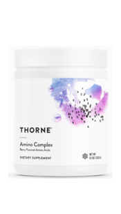 Amino Complex by Thorne - Berry or Lemon Flavor, 8.1 oz, (231g)