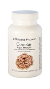 Coriolus Super Strength by JHS Natural Products, 150 Capsules (Professional)