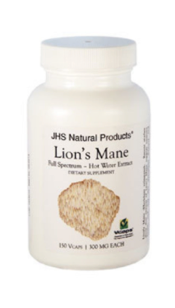 Lion's Mane by JHS Natural Products, 150 Vegetarian Capsules