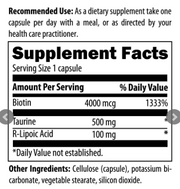 Stabilized R-Lipoic Acid Supreme by Designs for Health, 60 Vegetarian Capsules