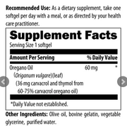 Oil of Oregano by Designs for Health, 120 Softgels