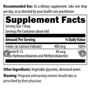 Super Liquid Folate by Designs for Health, 1 fl oz (30 mL)