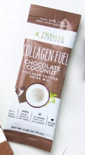 Collagen Fuel Packets by Primal Kitchen - Vanilla Coconut or Chocolate Coconut, 16.4g (.58 oz)