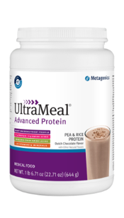 UltraMeal Advanced Protein® Pea & Rice Protein Powder by Metagenics