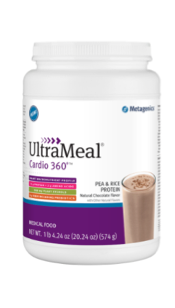 UltraMeal Cardio 360°® Pea & Rice Protein Powder by Metagenics