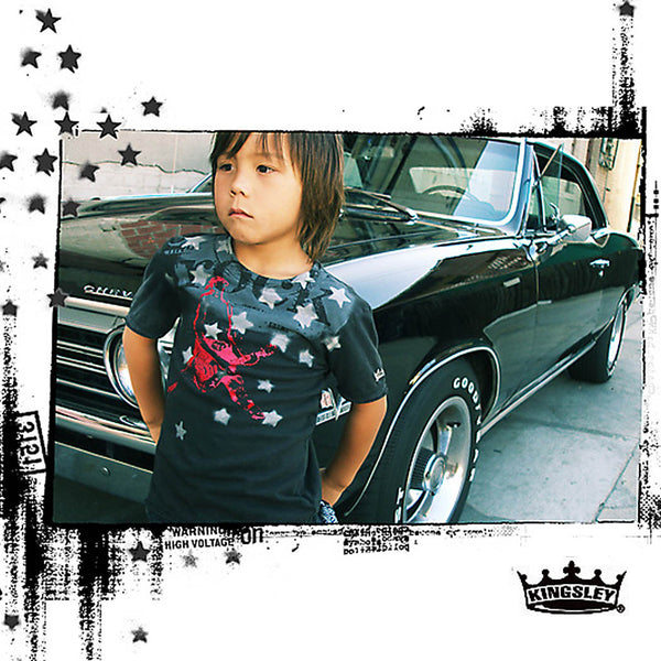 "KINGSLEY ""ROCK STAR"" BOYS T-SHIRT - Kingsley Clothing"