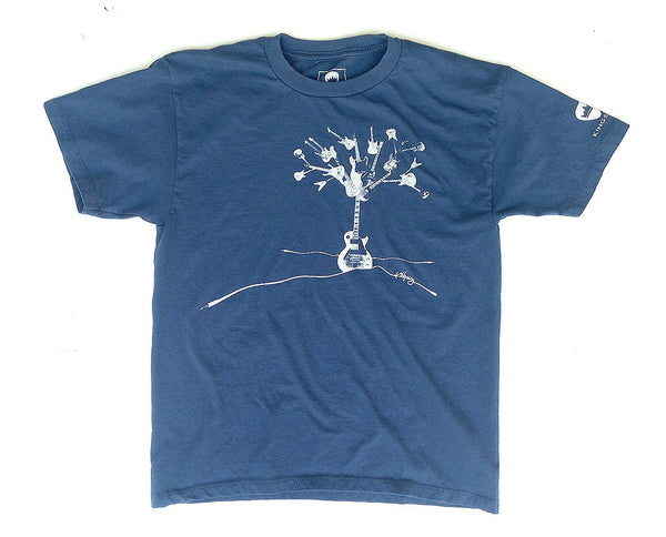 "KINGSLEY ""GUITAR TREE""  BOYS T-SHIRT - Kingsley Clothing"