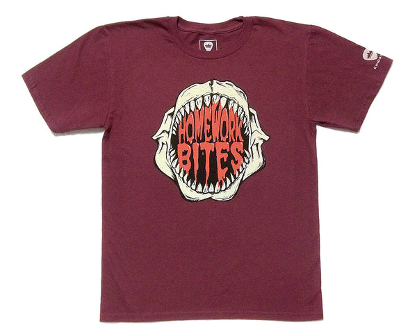 "KINGSLEY ""HOMEWORK BITES"" BOYS T-SHIRT - Kingsley Clothing"