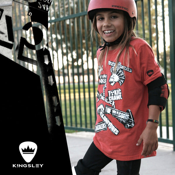 "KINGSLEY ""STICKERS"" BOYS T-SHIRT - Kingsley Clothing"