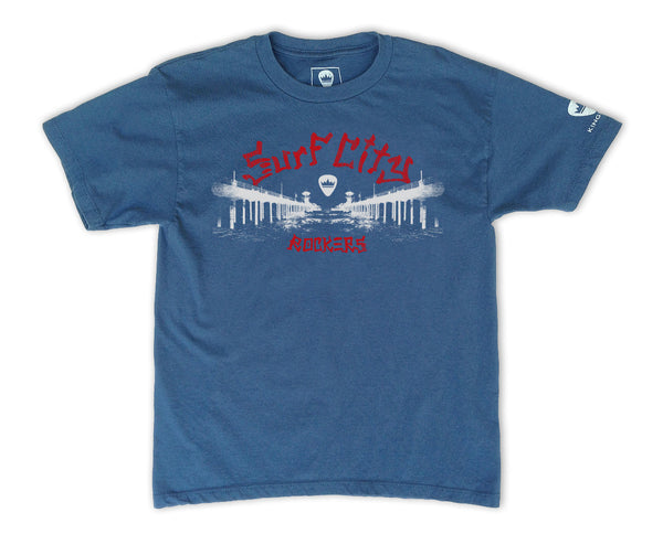 "KINGSLEY ""SURF CITY"" BOYS T-SHIRT - Kingsley Clothing"