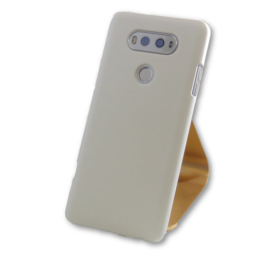LG V20 White Ultra Thin PC Case-FlagshipsGear
