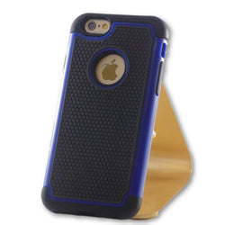 iPhone 6/6S Blue Hybrid Tough Armor Case-FlagshipsGear