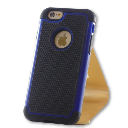 Mobile Phone Case - IPhone 6/6S Blue Armor Case