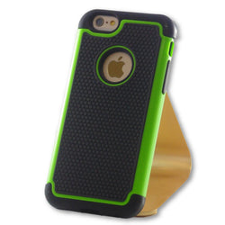 iPhone 6/6S Green Hybrid Tough Armor Case-FlagshipsGear