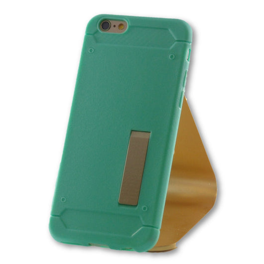 iPhone 6/6S Mint Green Slim Kick Stand TPU Case-FlagshipsGear