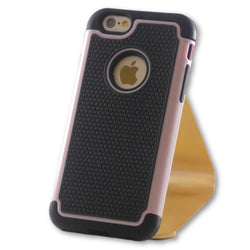 iPhone 6/6S Pink Hybrid Tough Armor Case-FlagshipsGear