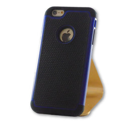 iPhone 6 Plus/6S Plus Blue Hybrid Tough Armor Case-FlagshipsGear