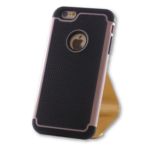 iPhone 6 Plus/6S Plus Pink Hybrid Tough Armor Case-FlagshipsGear