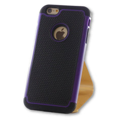 iPhone 6 Plus/6S Plus Purple Hybrid Tough Armor Case-FlagshipsGear