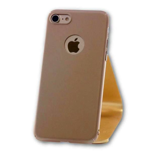 iPhone 7 Gold Ultra Thin PC Case-FlagshipsGear