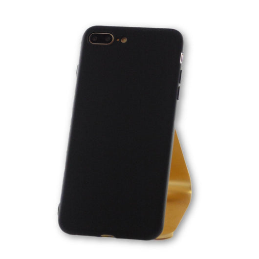 iPhone 7 Plus Black Silicone Case-FlagshipsGear