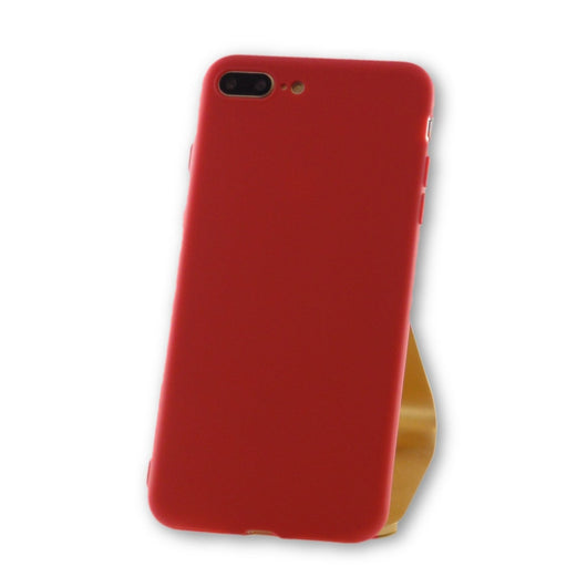 iPhone 7 Plus Coral Red Silicone Case-FlagshipsGear