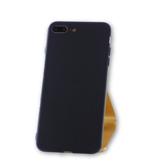 iPhone 7 Plus Navy Blue Silicone Case-FlagshipsGear