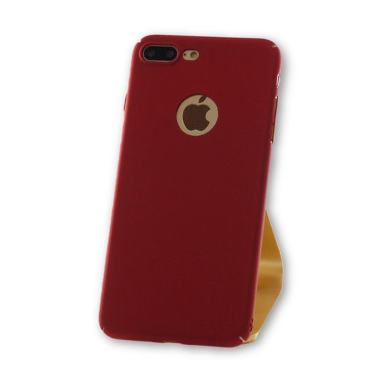 iPhone 7 Plus Red Ultra Thin PC Case-FlagshipsGear