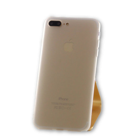 iPhone 7 Plus Semi Clear Silicone Case-FlagshipsGear