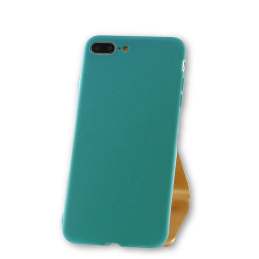 iPhone 7 Plus Teal Blue Silicone Case-FlagshipsGear