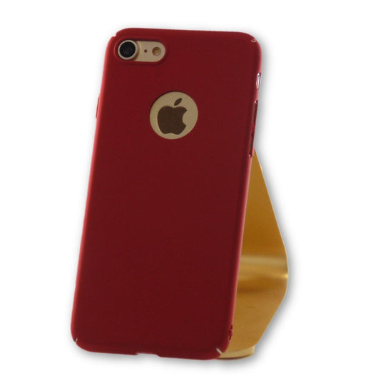 iPhone 7 Red Ultra Thin PC Case-FlagshipsGear