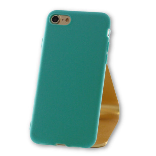 iPhone 7 Teal Blue Silicone Case-FlagshipsGear