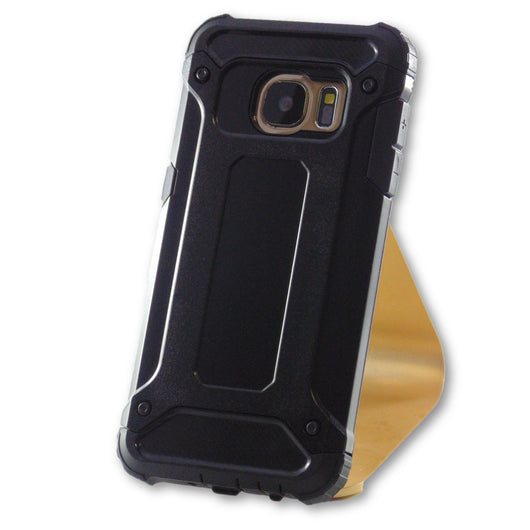 Samsung Galaxy S7 Black Hybrid Tough Armor Case-FlagshipsGear