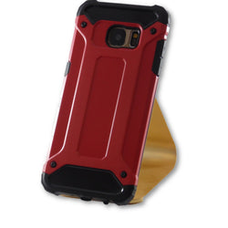 Mobile Phone Case - Samsung Galaxy S7 Edge Red Armor Case