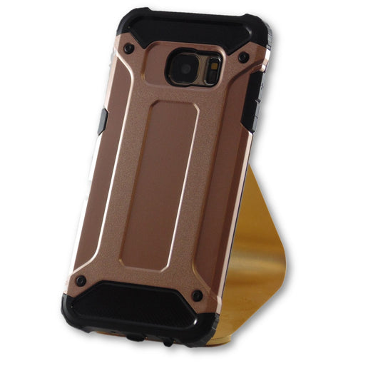 separation shoes 44113 488b4 Samsung Galaxy S7 Edge Rose Gold Hybrid Tough Armor Case