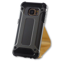 Samsung Galaxy S7 Gun Metal Grey Hybrid Tough Armor Case-FlagshipsGear