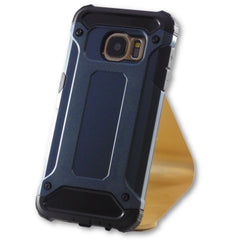 Samsung Galaxy S7 Navy Blue Hybrid Tough Armor Case-FlagshipsGear
