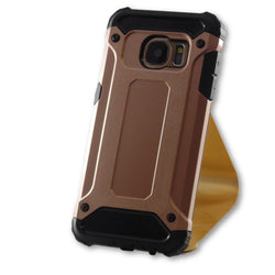Samsung Galaxy S7 Rose Gold Hybrid Tough Armor Case-FlagshipsGear