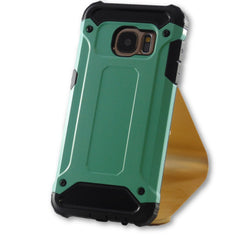 Samsung Galaxy S7 Mint Green Hybrid Tough Armor Case-FlagshipsGear