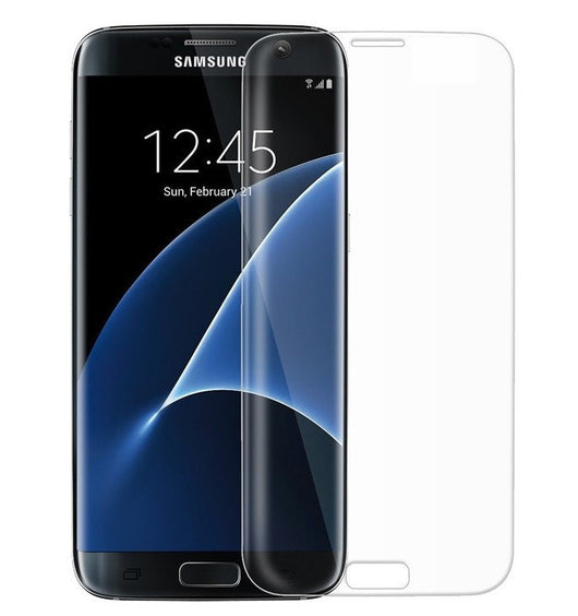 sale retailer aa3f5 60f96 Samsung Galaxy S7 Edge 3D Full Coverage Clear Tempered Glass Screen  Protector